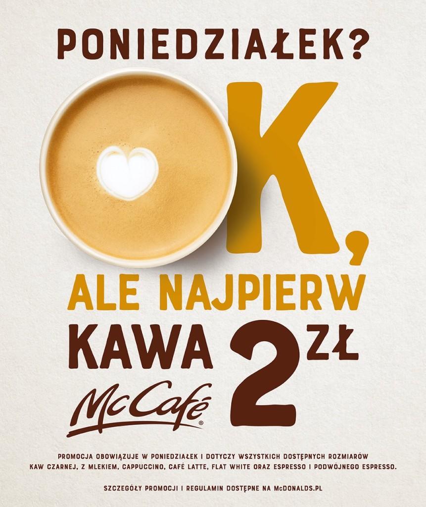 KV - kawowe poniedziałki za 2 zł