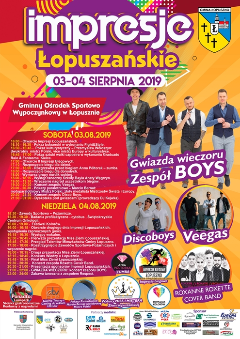 Plakat Łopuszno