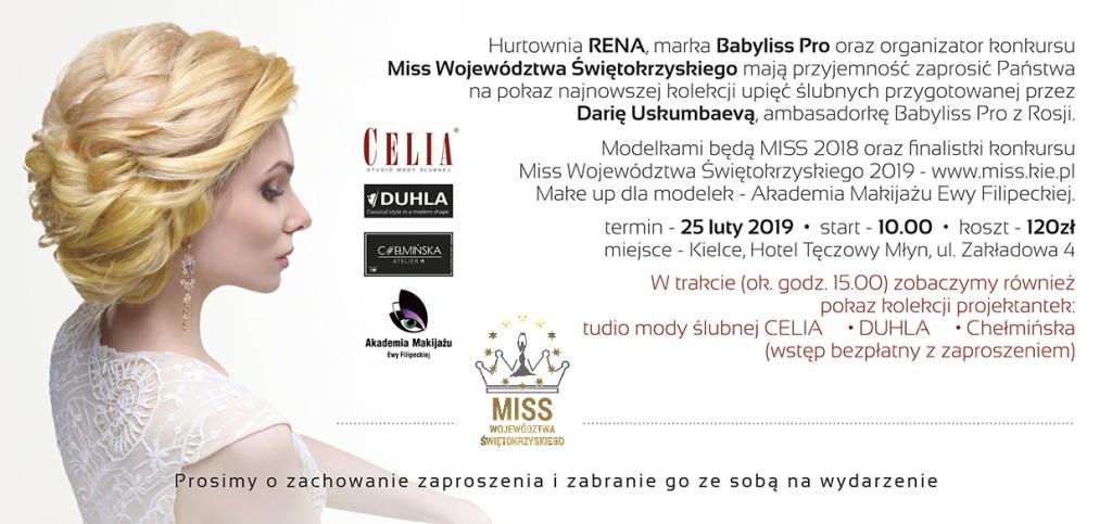 Zaproszenie Miss Fashion