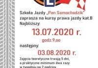 plakat Pan Samochodzik 13.07 i 03.08